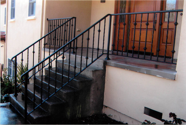 Wrought Iron Railing San Jose, CA, Iron Railings San Jose