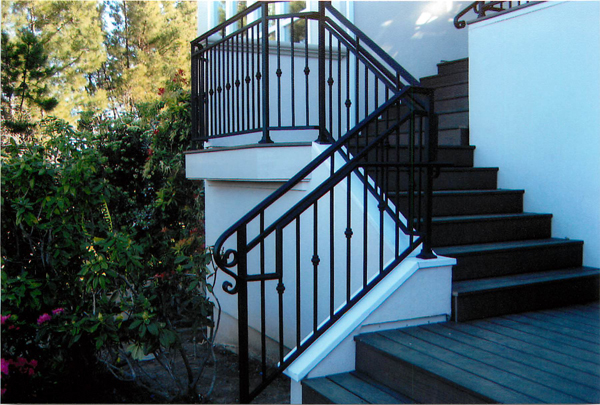 Iron Staircase Railings San Jose