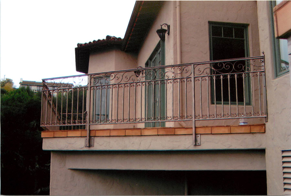 Wrought Iron Balcony Railings San Jose