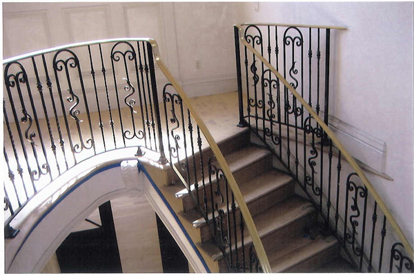 Ornamental Stair Railings San Jose